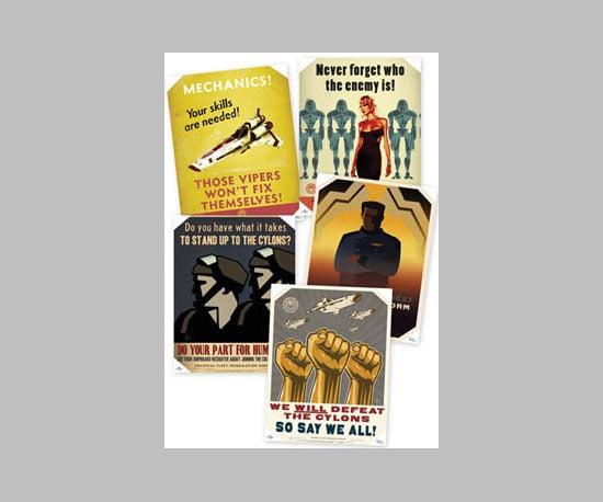 Battlestar Galactica Propaganda Posters