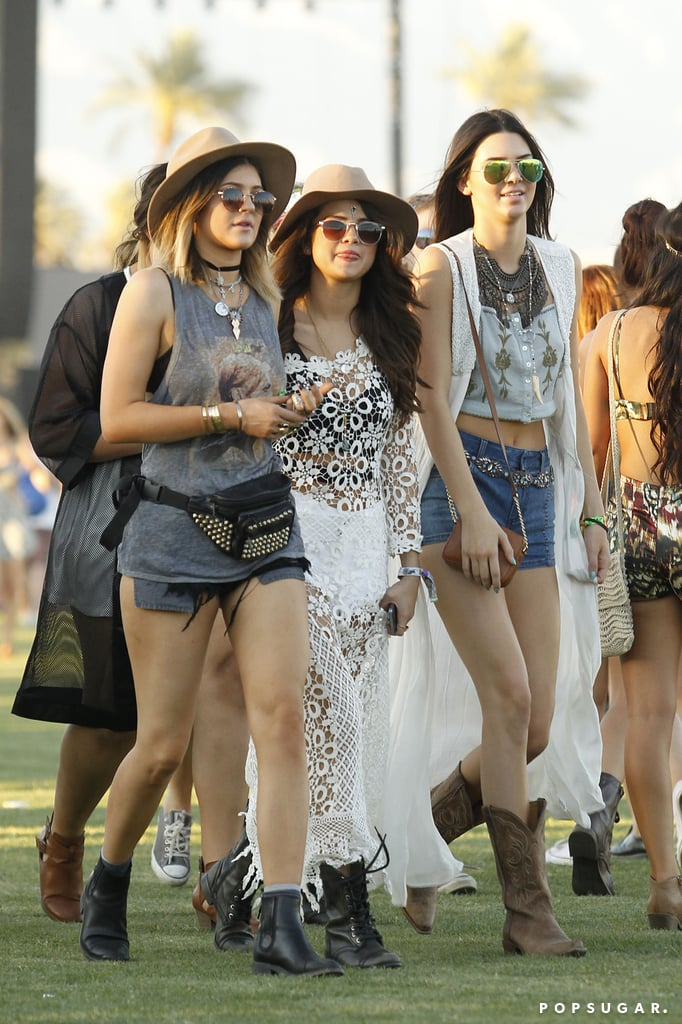 Kylie and Kendall Jenner had fun with Selena Gomez.
