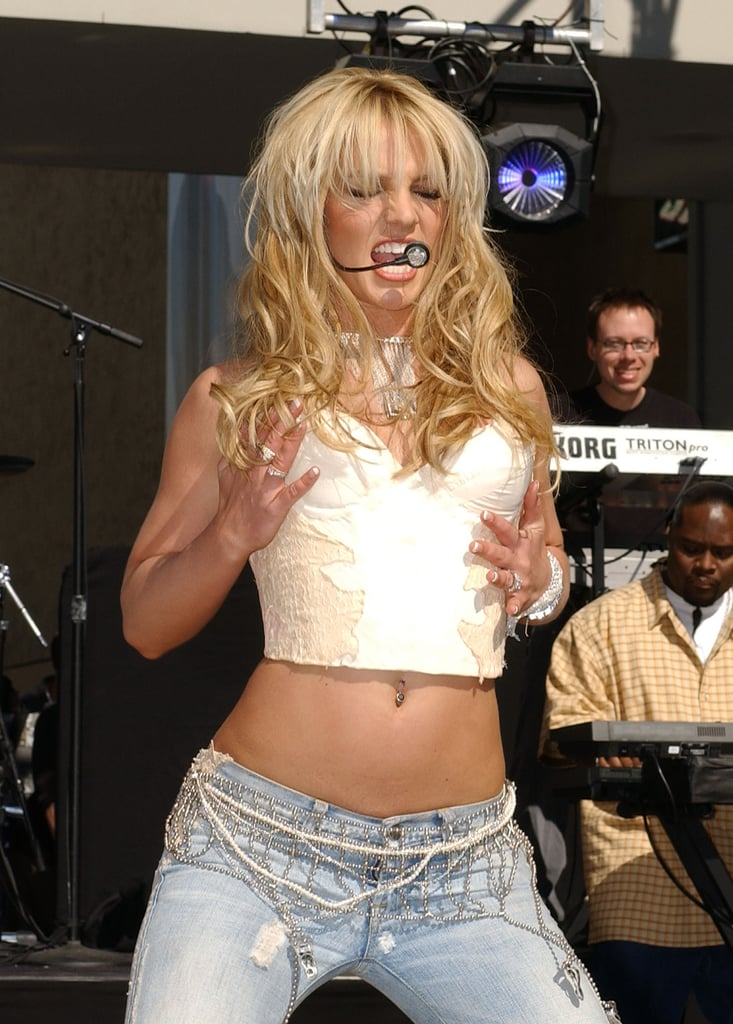 Britney Spears got into the song when she performed for On Air With Ryan Seacrest in February 2004.