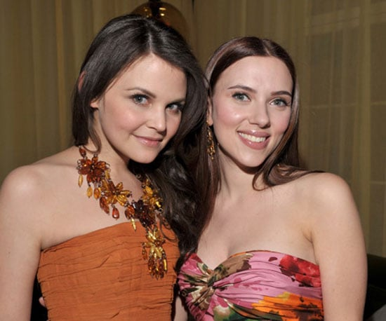Photo of Ginnifer Goodwin and Scarlett Johansson at the He's Just Not That Into You Afterparty