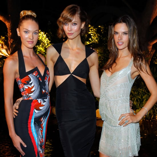 Alessandra Ambrosio Victoria's Secret Party (Pictures)