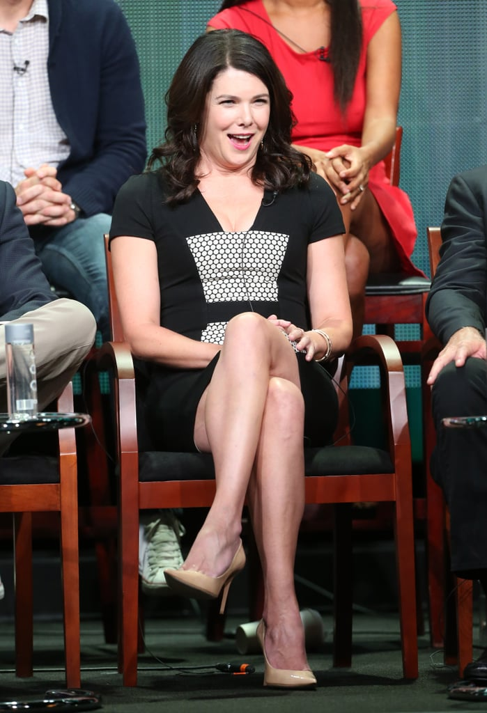 Lauren Graham was a the panel for Parenthood.