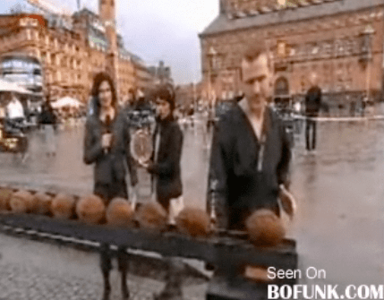 Guy Tries and Fails to Break World Coconut-Smashing Record