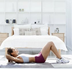 A mini circuit workout that only takes six minutes!