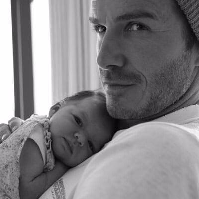 David Beckham Harper Birthday Message
