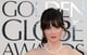 Zooey Deschanel Brightens Up the Golden Globes Red Carpet
