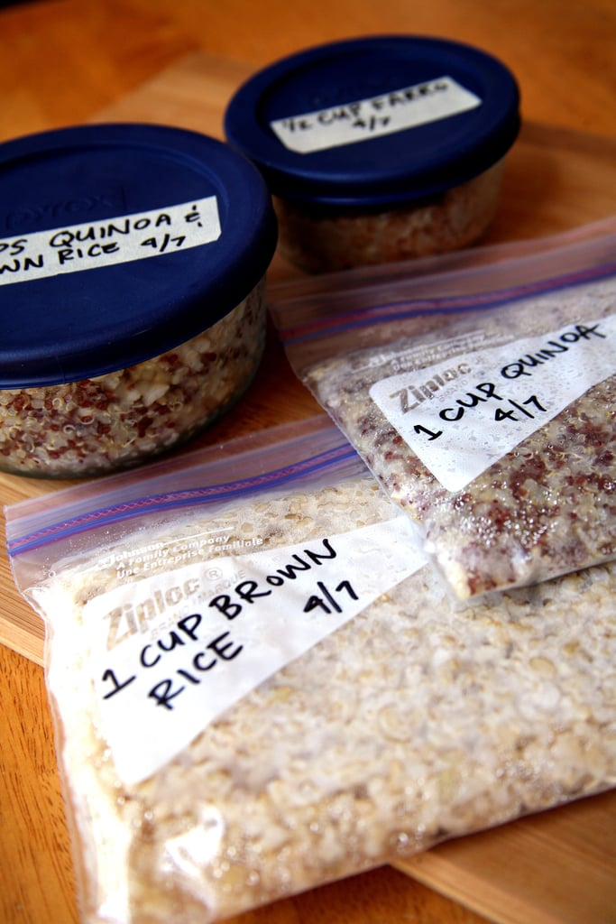 Freeze Whole Grains For Weeknight Dinners to Come