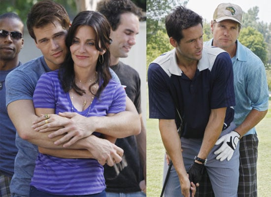 See Photos And Preview Clips From Series One Episode 5 and 6 of Cougar Town with Courteney Cox Airing on Living TV in UK