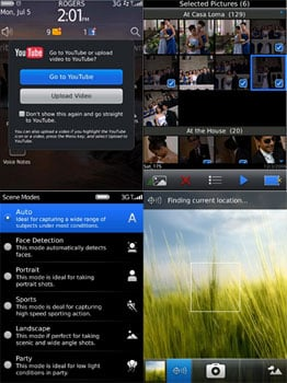 Blackberry OS 6.0 Music and Video Details