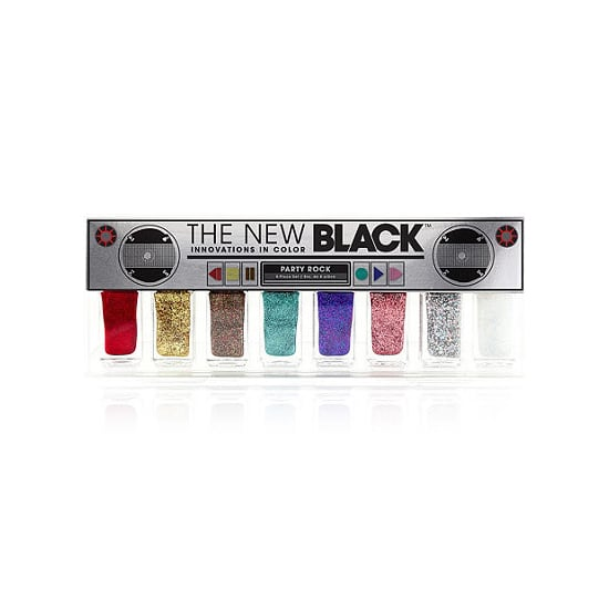 Nail polish is a crowd-pleaser, especially when it's The New Black Party Rock Nail Set ($32). Infused with sparkling particles, this sampler comes with metallic shades of pink, silver, gold, purple, turquoise, red, bronze, and white.