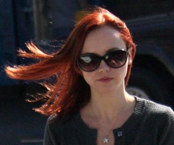 Christina Ricci With Red Hair