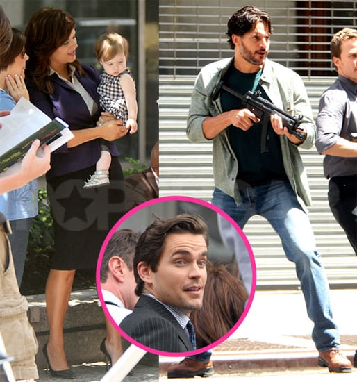 Babies, Bomer, and a Cameo From True Blood's Joe Manganiello on the Set of White Collar