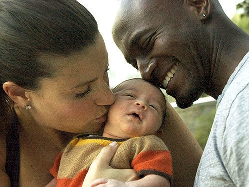 Picture of Taye Diggs and Baby Walker