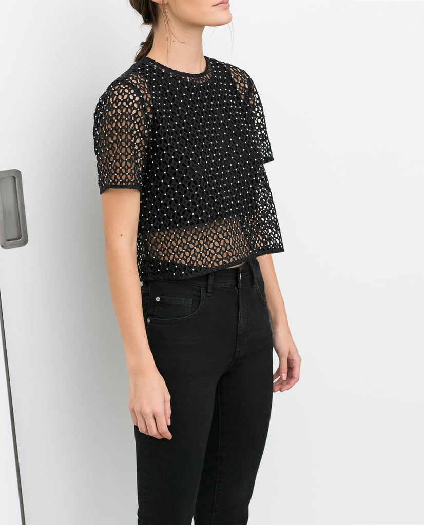 Zara Cutout Top