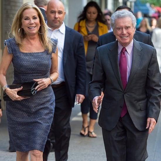 Kathie Lee Gifford and Regis Philbin in NYC