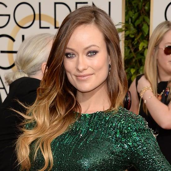 Olivia Wilde at the Golden Globe Awards 2014
