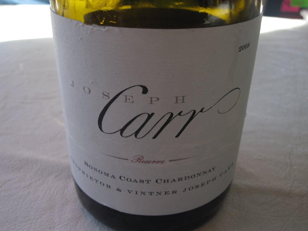 Winemaker Joseph Carr was at the table pouring three of his varietals, and they were all wonderful, but if I had to choose a favorite, it would be the slightly minerally Chardonnay.