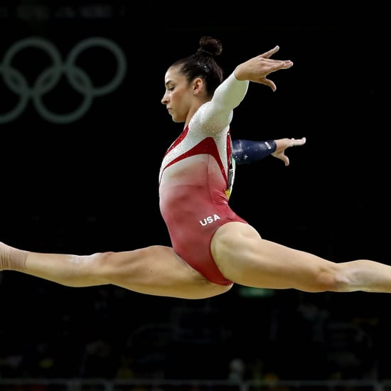 Aly Raisman Gymnastics Balance Beam | Video