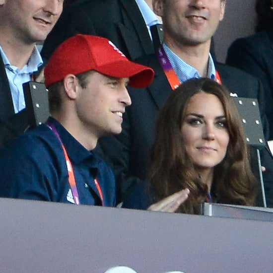 Prince William With Kate and Harry at the Olympics
