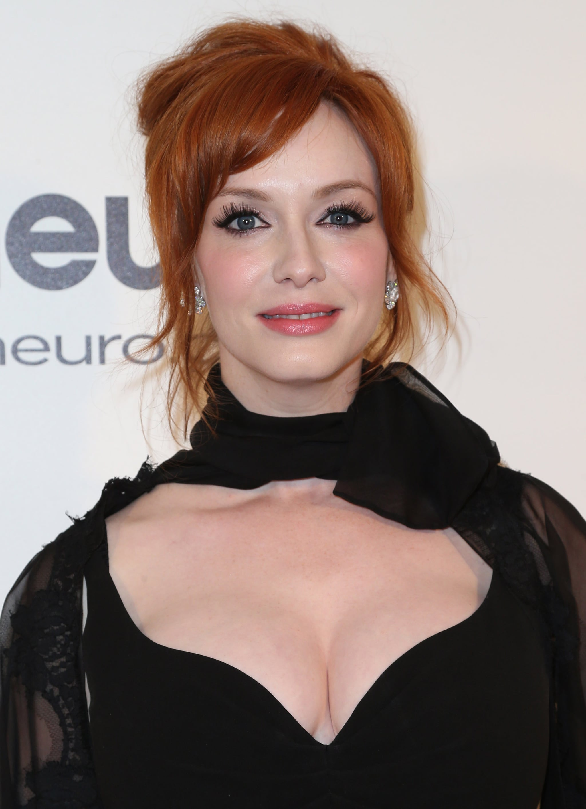 Christina Hendricks at Elton John Party