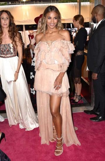 See Ciara's Gorgeous Wedding Dress