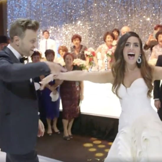 Couple Films a Music Video at Their Wedding Reception