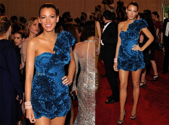 Pictures of Blake Lively at the Costume Institute Gala