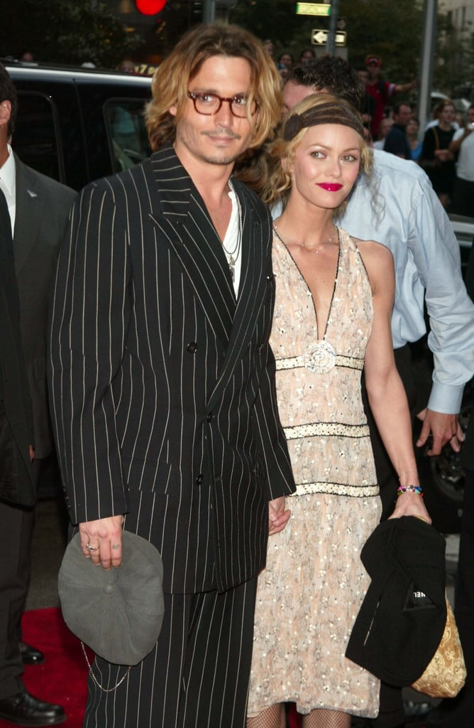 The couple hit the red carpet in NYC in 2003.