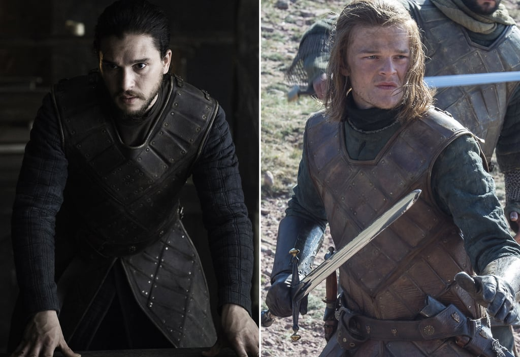 Jon Snow Wearing Ned Stark's Armour | POPSUGAR Celebrity ...