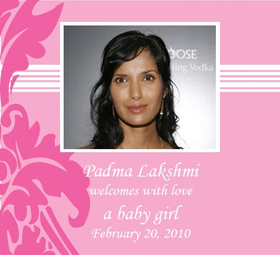 Padma Lakshmi Has a Baby Girl
