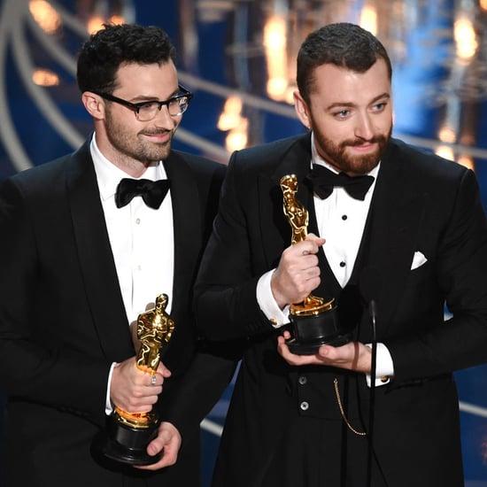 Sam Smith Acceptance Speech Oscars 2016