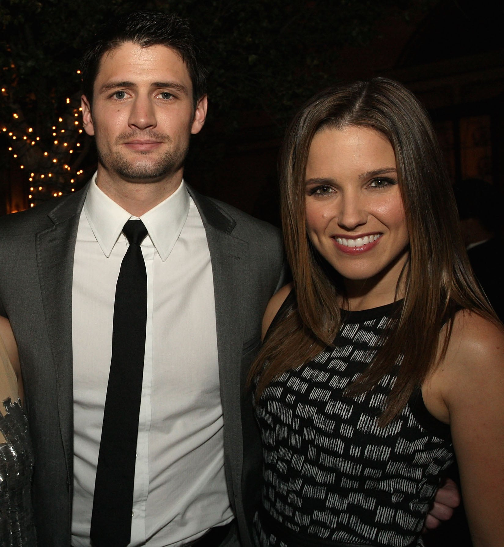 Another small-s... James Lafferty And Wife