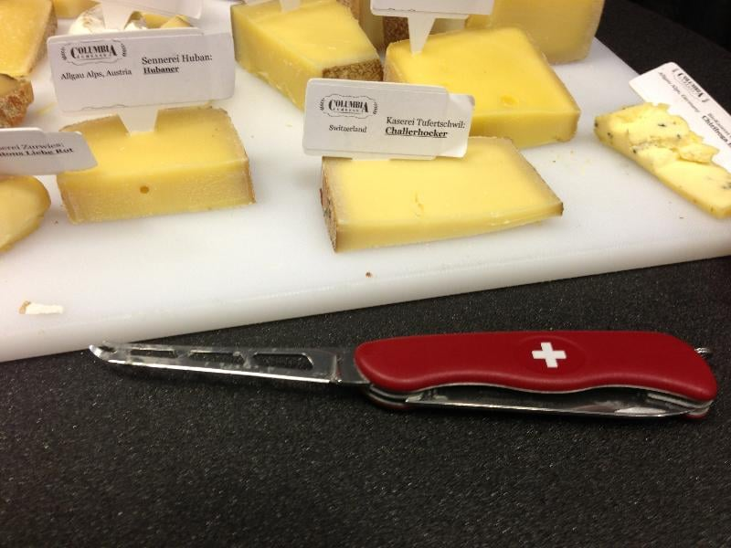 Swiss Army Cheese Knife