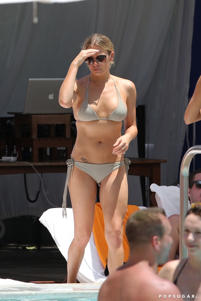 LeAnn Rimes Flaunts Her Physique While Partying Poolside
