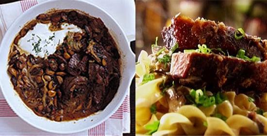 Beef Stroganoff Two Ways — Beginner and Expert