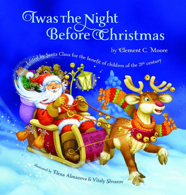 The classic tale gets a modern look in Twas the Night Before Christmas: Edited by Santa Claus For the Benefit of Children of the 21st Century ($4).