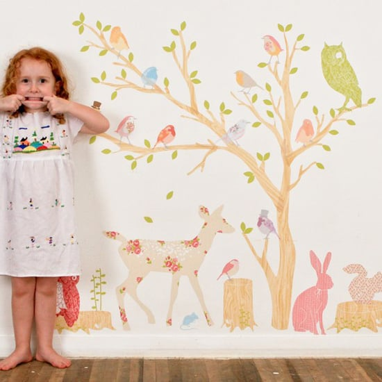 Tree Wall Decals For The Nursery