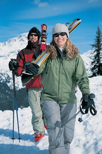 Winter Sports Burn Lots of Calories