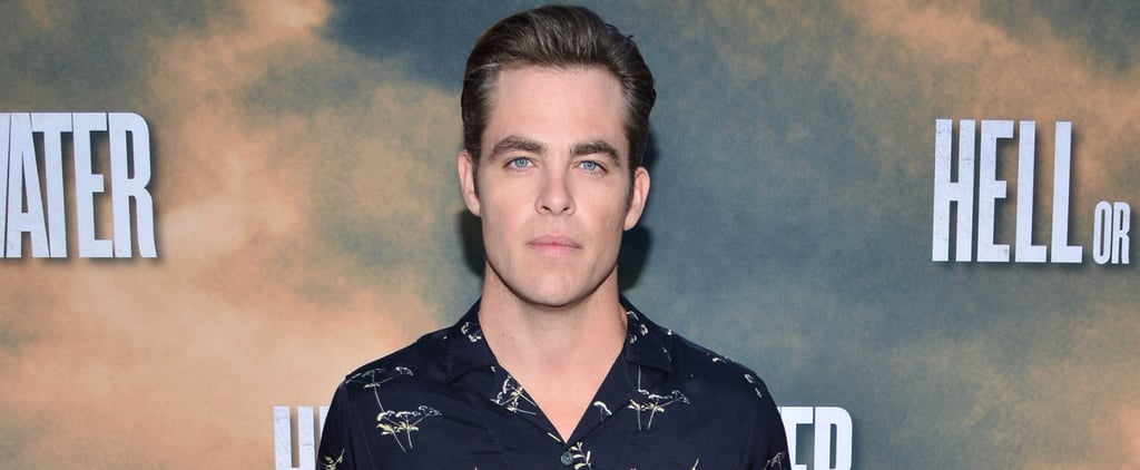 Chris Pine Shows Up to the Premiere of Hell or High Water in High-as-Hell Trousers