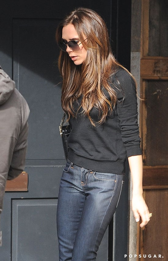Victoria Beckham had a shopping trip in London.