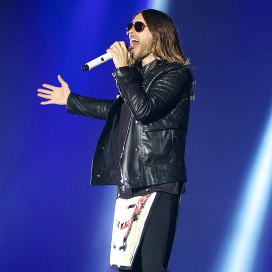 Jared Leto on Tour With 30 Seconds to Mars