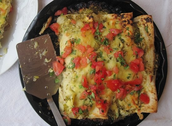 Rotisserie: a quick and dirty enchilada filling.