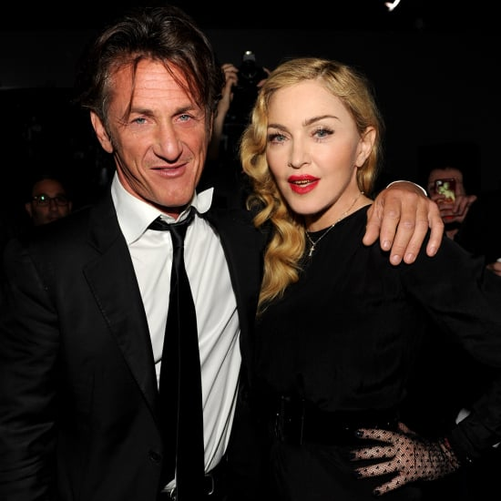 Madonna and Sean Penn Reunite at a Party 2013