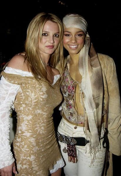Britney Spears and Alicia Keys