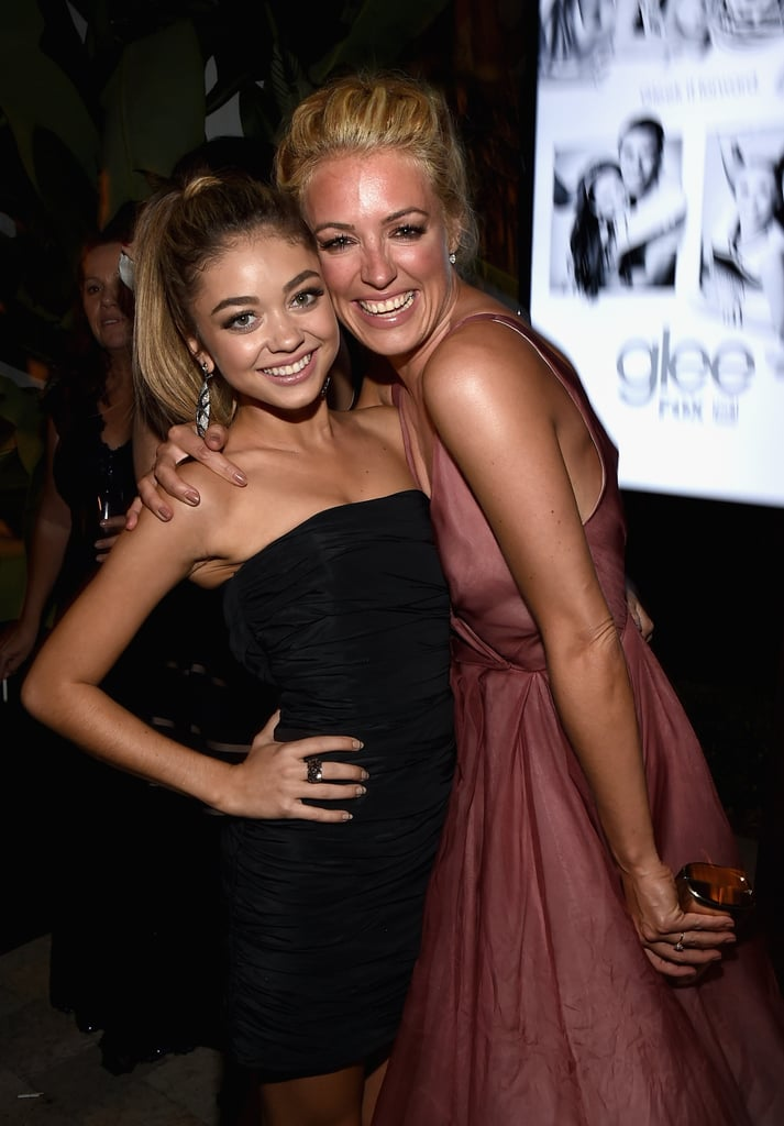 Sarah Hyland and Cat Deeley posed together while hanging out at the Fox/FX bash.