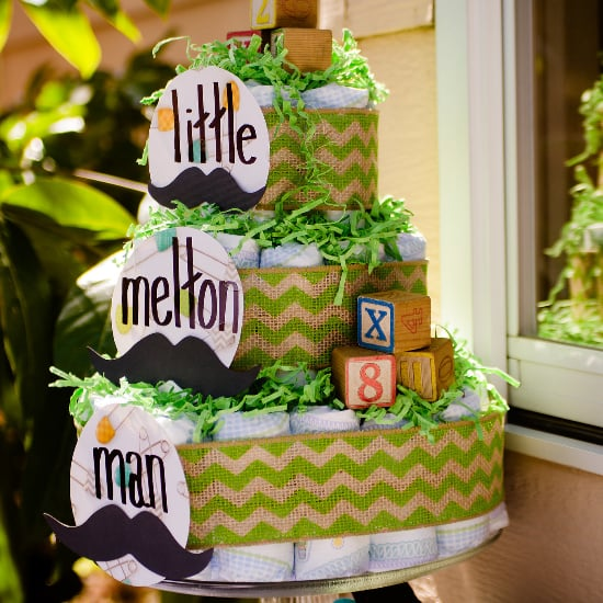 Mustache-Themed Baby Shower