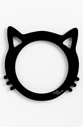 Tatty Devine Cat's Head Bangle