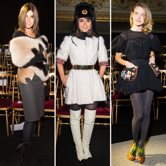Carine, Miroslava, and Natalia Lead the Latest Front-Row Pack