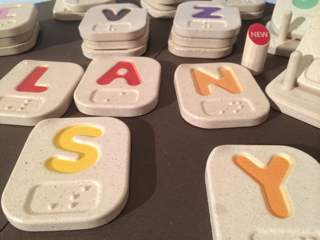 Plan Toys Braille Letters