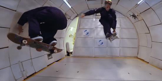 Tony Hawk Finally Gets To Show Gravity Who's Boss
